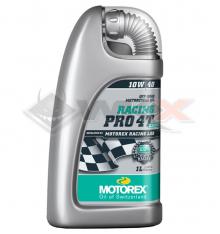 Piece Huile moteur MOTOREX RACING PRO CROSS 10W40 4T 1 Litre de Pit Bike et Dirt Bike
