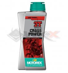 Piece Huile moteur MOTOREX CROSS POWER 2T 1 Litre de Pit Bike et Dirt Bike