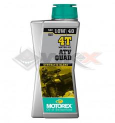 Piece Huile moteur MOTOREX QUAD ATV 10W40 4T 1 Litre de Pit Bike et Dirt Bike