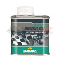 Piece Huile d'amortisseur MOTOREX Racing Shock Oil 250ml de Pit Bike et Dirt Bike
