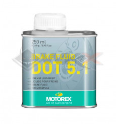 Piece Liquide de frein DOT 5.1 MOTOREX 250ml de Pit Bike et Dirt Bike