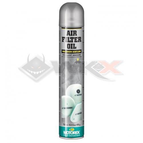 Piece Graisse de filtre à air MOTOREX Oil Spray 750ml de Pit Bike et Dirt Bike