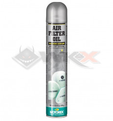 Piece Graisse de filtre à air MOTOREX Oil Spray 750ml de Pit Bike et Dirt Bike