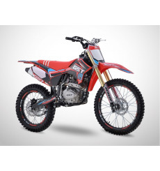 Piece Moto-cross 250 MX-2 GUNSHOT ROUGE - édition 2021 de Pit Bike et Dirt Bike