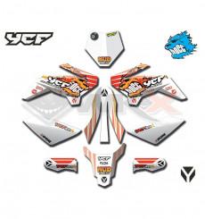 Piece Kit décoration YCF 50A modèle 2021 de Pit Bike et Dirt Bike