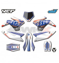 Piece Kit déco YCF F150 MX Big factory 2021 de Pit Bike et Dirt Bike