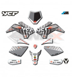 Piece Kit décoration YCF SM125 2021 de Pit Bike et Dirt Bike