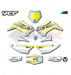 Piece Kit décoration SM 190 2021 YCF de Pit Bike et Dirt Bike