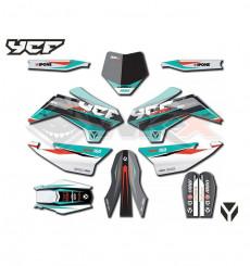 Piece Kit déco SP2 YCF 2021 de Pit Bike et Dirt Bike