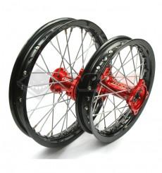 Piece Set de jantes STYX Racing arrière 12' + avant 14' de Pit Bike et Dirt Bike