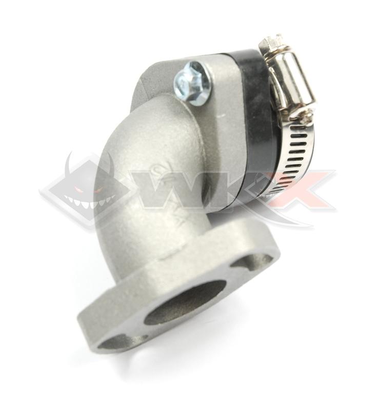 Pipe souple orientable pour carburateur VM