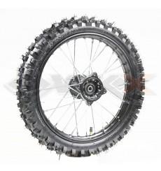 Piece Roue avant seule 14' axe 12mm de Pit Bike et Dirt Bike