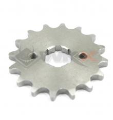 Piece Pignon de sortie de boite axe 17 mm 16 dents 420 de Pit Bike et Dirt Bike