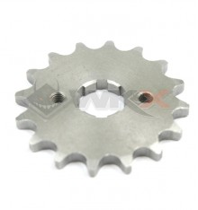 Piece Pignon de sortie de boite  axe 20 mm 15 dents 420 de Pit Bike et Dirt Bike