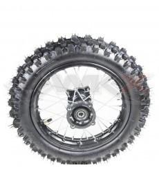 Piece Roue arrière seule 12' axe 15mm de Pit Bike et Dirt Bike