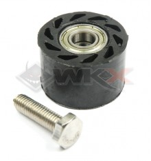 Piece Roulette de chaine 8mm NOIR de Pit Bike et Dirt Bike