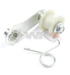 Piece Roulette tendeur de chaine avec support acier OLD de Pit Bike et Dirt Bike