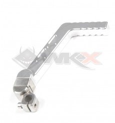 Piece Kick aluminium CNC 13mm GRIS de Pit Bike et Dirt Bike