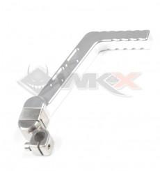 Piece Kick aluminium CNC 13mm GRIS de Pit Bike et Dirt Bike