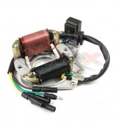 Piece Stator allumage moteur démarreur électrique LIFAN de Pit Bike et Dirt Bike