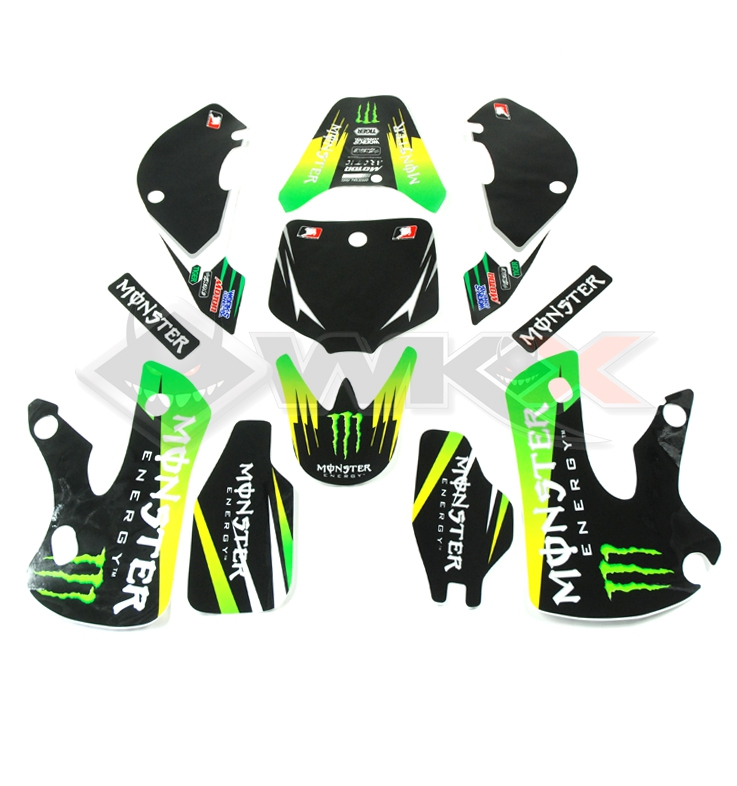 Kit décoration MONSTER KLX VERT