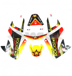 Piece Kit décoration ROCKSTAR CRF 70 de Pit Bike et Dirt Bike
