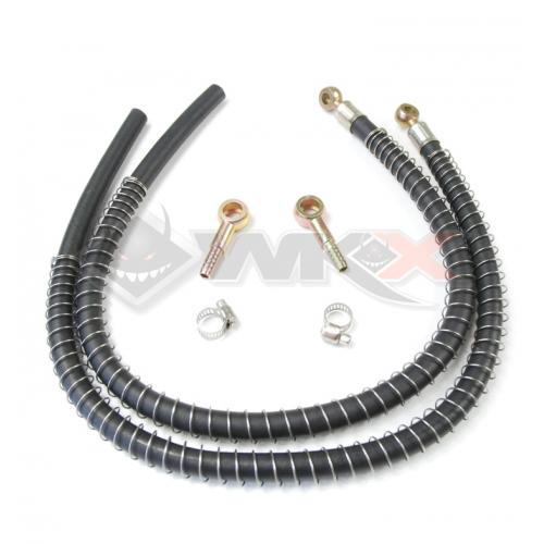 Piece Durite pour radiateur aluminium BP 8mm/10mm / la paire de Pit Bike et Dirt Bike