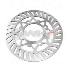 Piece Disque de freins axe 76 diamètre 220 mm type MARZOCCHI de Pit Bike et Dirt Bike