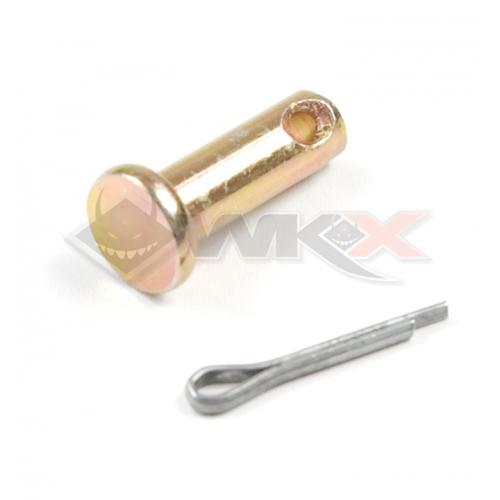 Piece Axe de liaison maitre cylindre / pédale de frein de Pit Bike et Dirt Bike