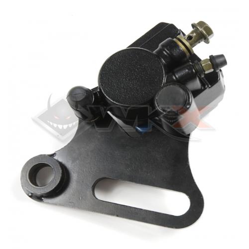Piece Etrier de frein arrière avec support axe 15mm de Pit Bike et Dirt Bike