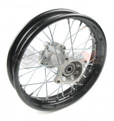 Piece Jante arrière acier 12' axe 15mm de Pit Bike et Dirt Bike