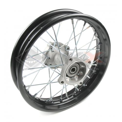 Piece Jante arrière acier 10' axe 15 mm de Pit Bike et Dirt Bike