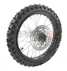 Piece Roue avant complète 17' axe 15mm de Pit Bike et Dirt Bike