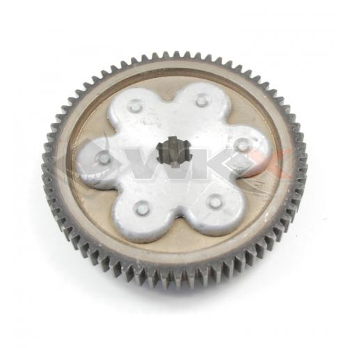 Piece Pignon flector embrayage / boite 67 dents 125 LIFAN classic de Pit Bike et Dirt Bike