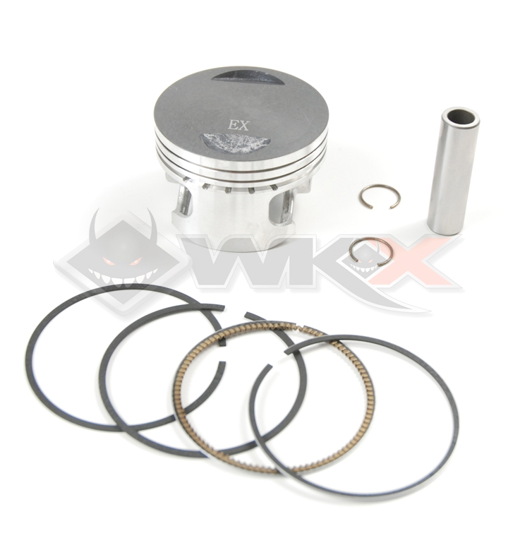 Kit piston 160 YX type KLX diamètre 62 axe 13 mm