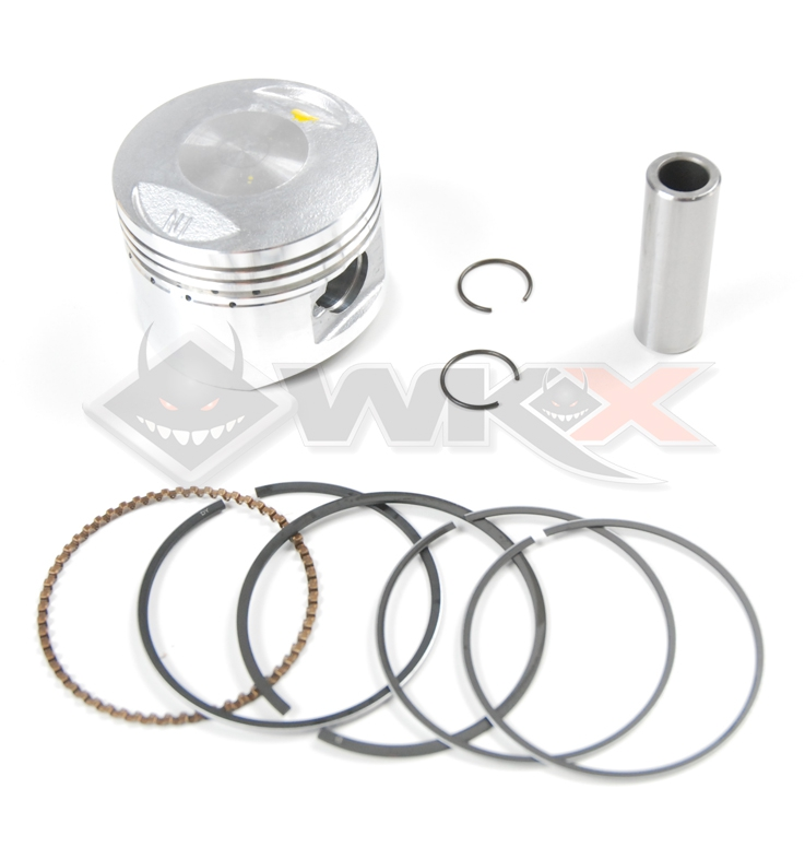 Kit piston 125 LIFAN diamètre 52,4 axe 14 mm