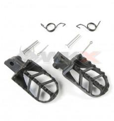 Piece Cales pieds acier type BS de Pit Bike et Dirt Bike