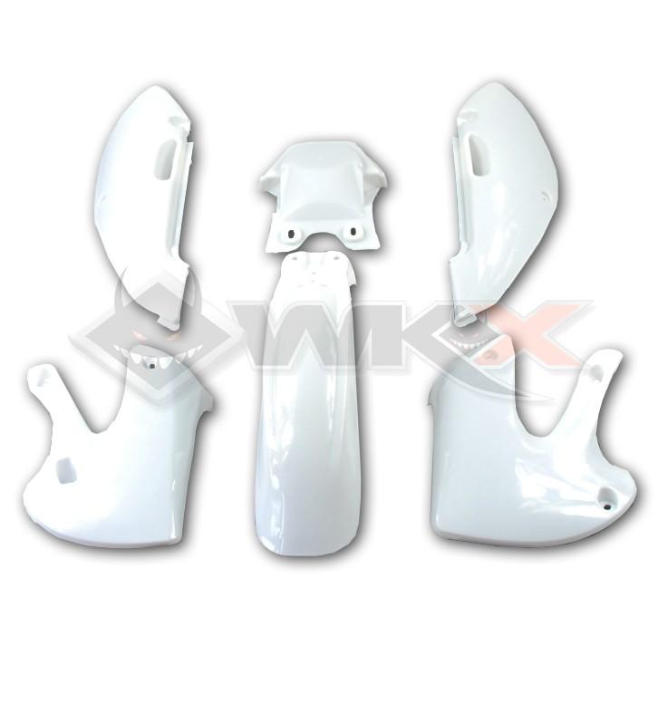 Kit plastique type KLX BLANC