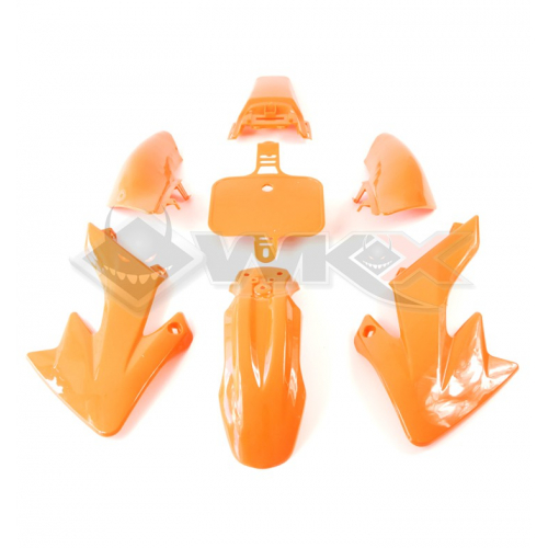 Piece Kit plastique CRF 50 ORANGE de Pit Bike et Dirt Bike