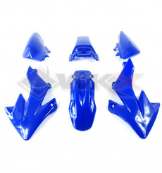 Piece Kit plastique type CRF 50 BLEU de Pit Bike et Dirt Bike