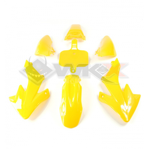 Piece Kit plastique CRF 50 JAUNE de Pit Bike et Dirt Bike
