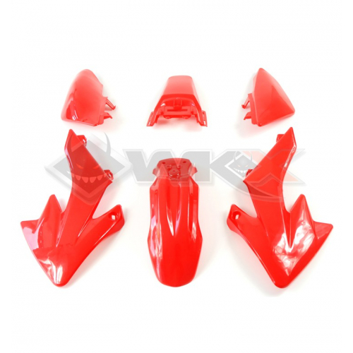 Piece Kit plastique CRF 50 ROUGE de Pit Bike et Dirt Bike