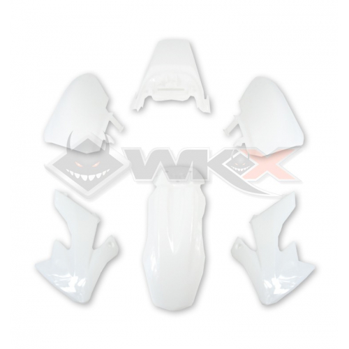 Piece Kit plastique CRF 50 BLANC de Pit Bike et Dirt Bike
