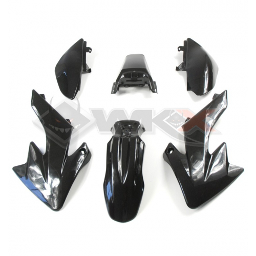 Piece Kit plastique CRF 50 NOIR de Pit Bike et Dirt Bike