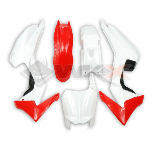 Piece Kit plastique CRF 110 ROUGE de Pit Bike et Dirt Bike