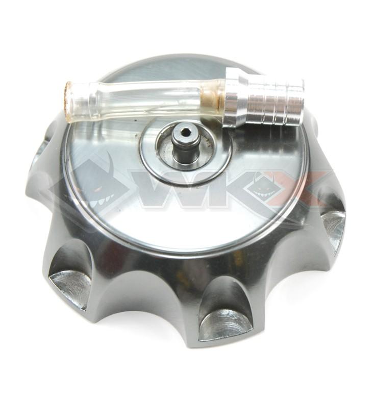 Bouchon de réservoir aluminium GRIS ANTHRACITE