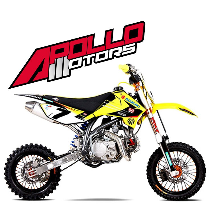 Pit Bike APOLLO RFZ ELITE 150 S - JAMES STEWART - Edition 2015
