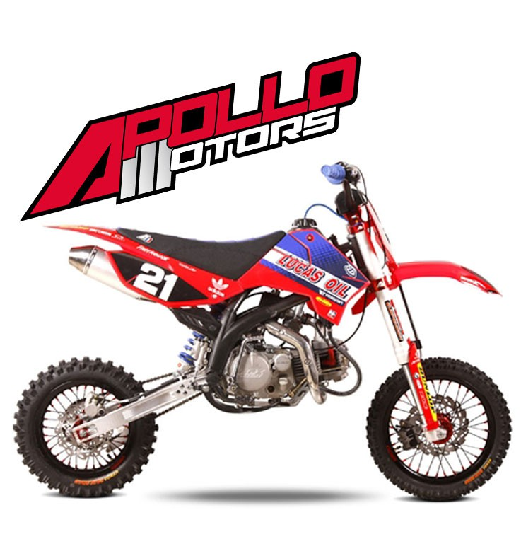 Pit Bike APOLLO RFZ ELITE 150 S - COLE SEELY - Edition 2015