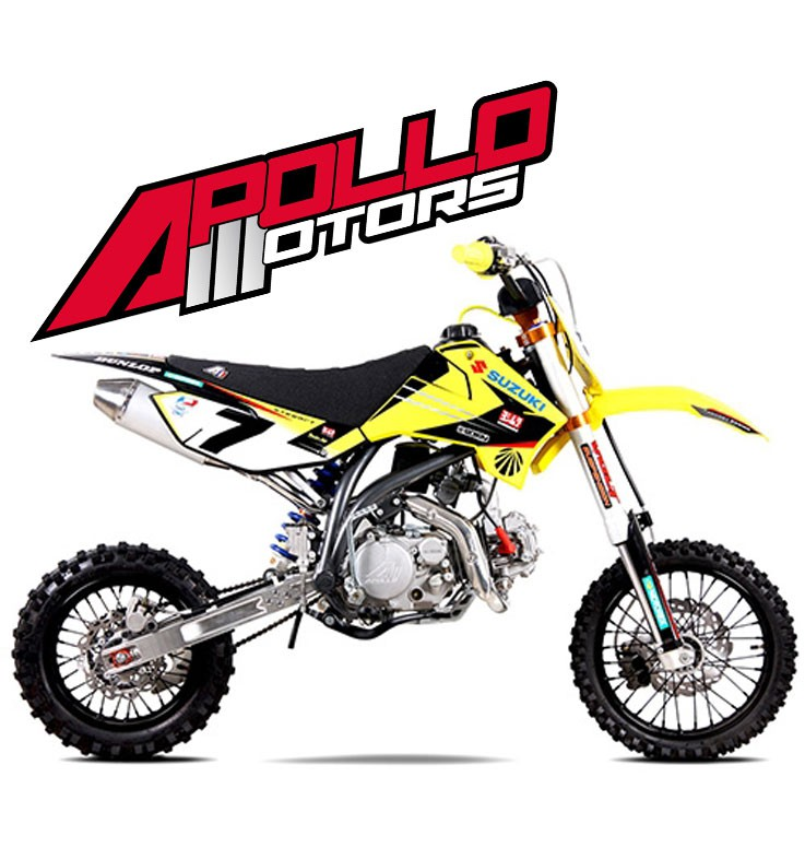 Pit Bike APOLLO RFZ ELITE 150 - JAMES STEWART - Edition 2015
