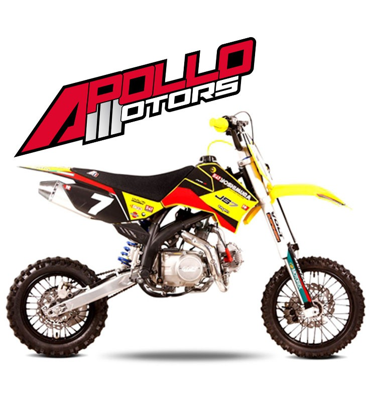 Pit Bike APOLLO RFZ OPEN 150 - JAMES STEWART - Edition 2015